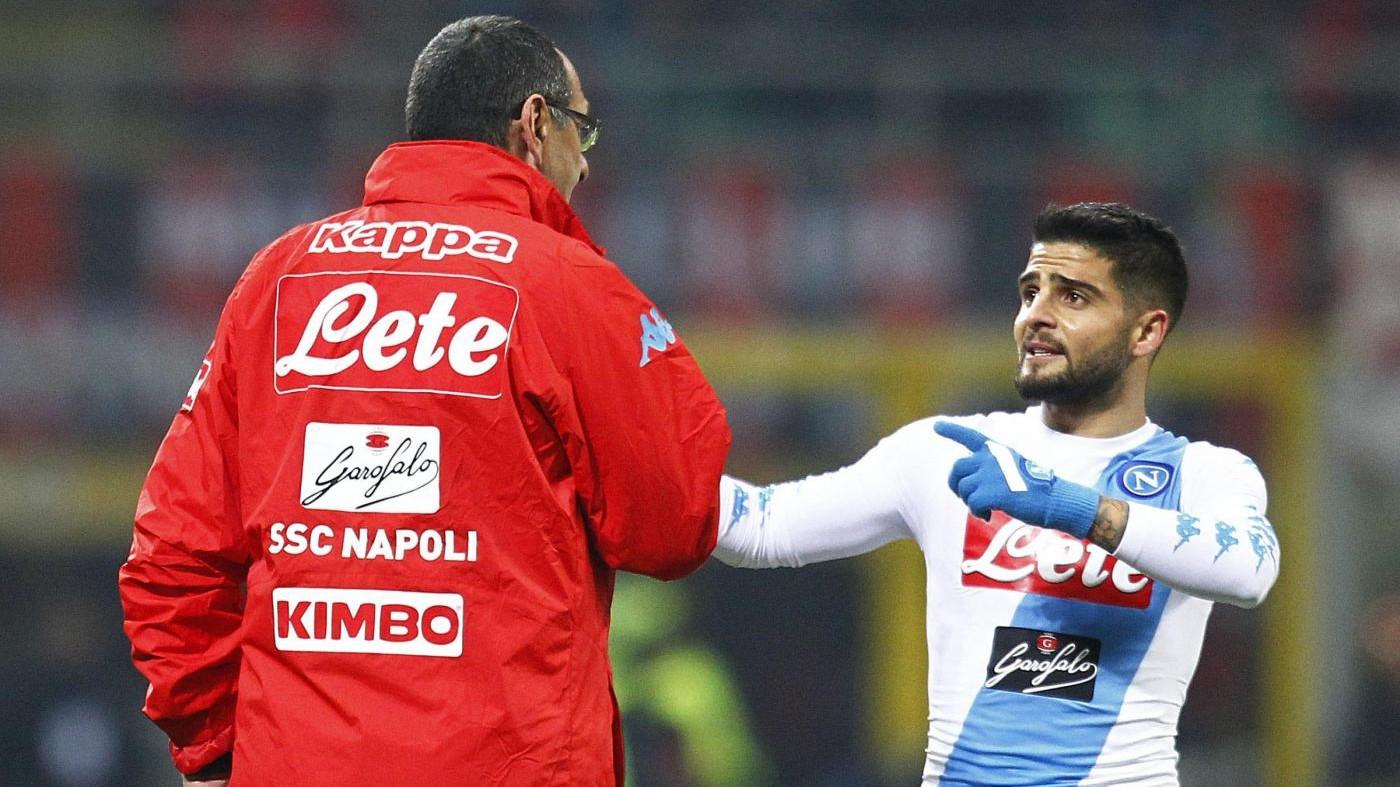 Insigne: Sarri vuole vincere a Napoli, meritiamo più di 3° posto