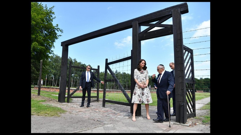 Continua il tour di William e Kate in Polonia e Germania ©Andrew Parsons / i-Images