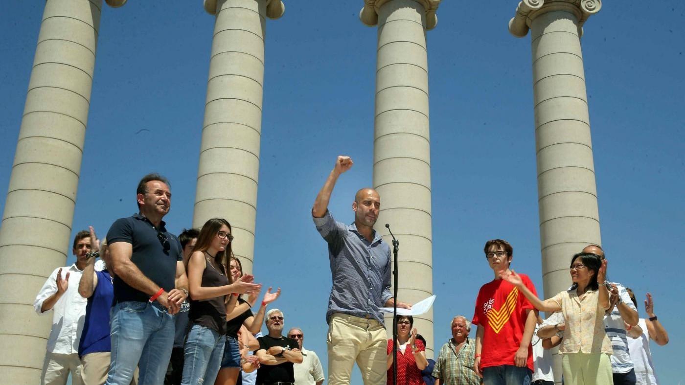Catalogna, Guardiola: Voteremo comunque, non c'è altra via d'uscita