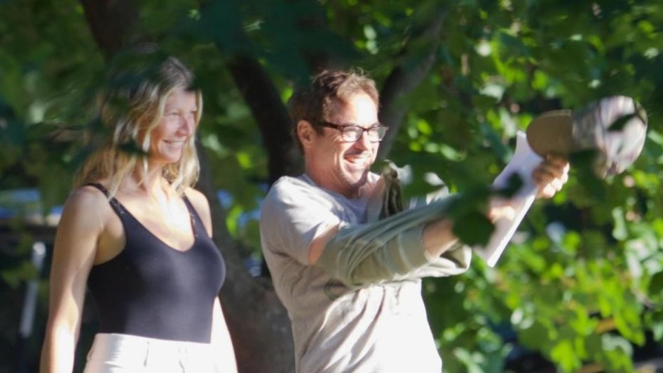 Paltrow e Anthony Russo ©Backgrid