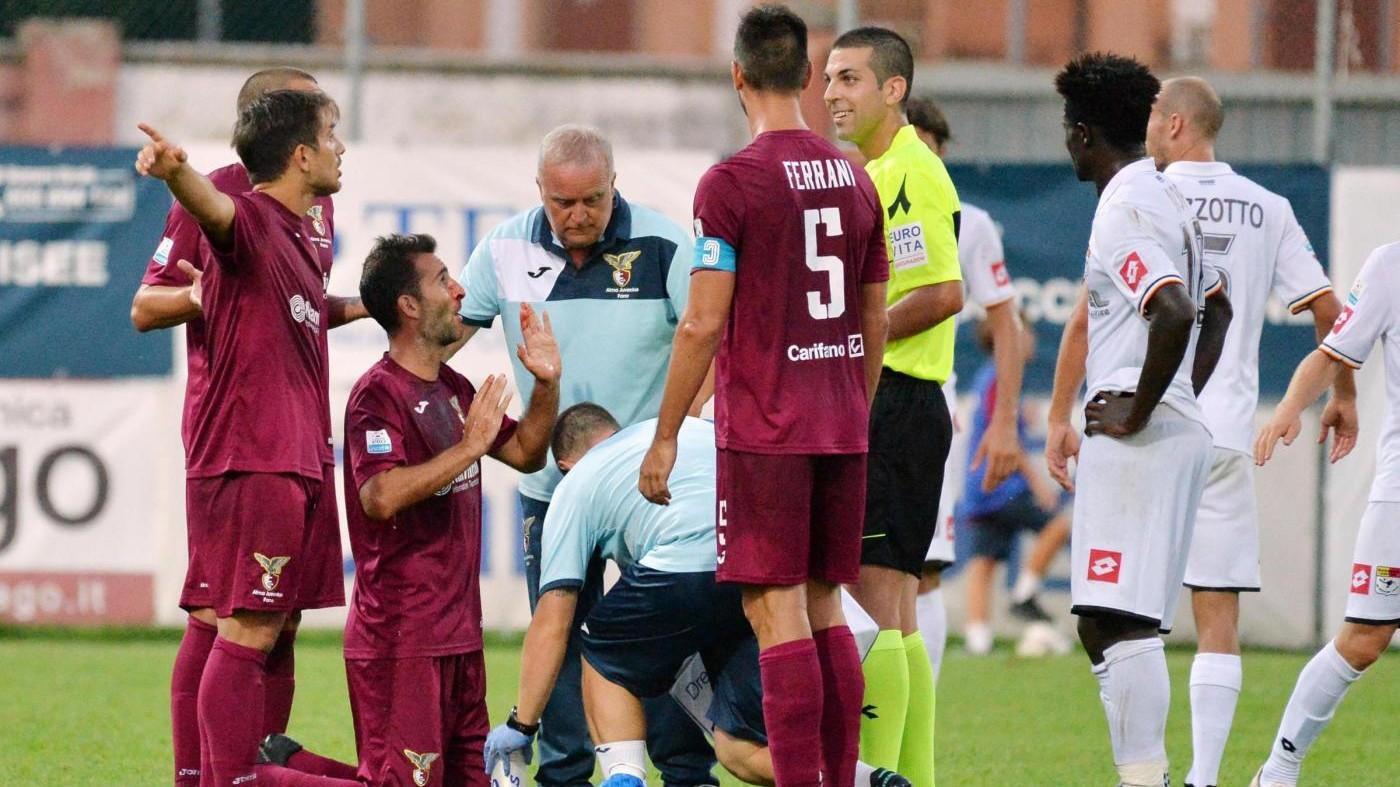 Serie C, Fano-Bassano 1-0