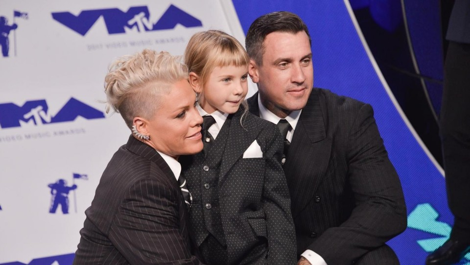 Pink, Carey Hart e la figlia Willow Sage Hart ©Sipa USA