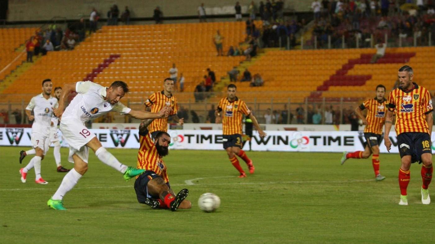 FOTO serie C, Lecce supera in casa Trapani 2-1