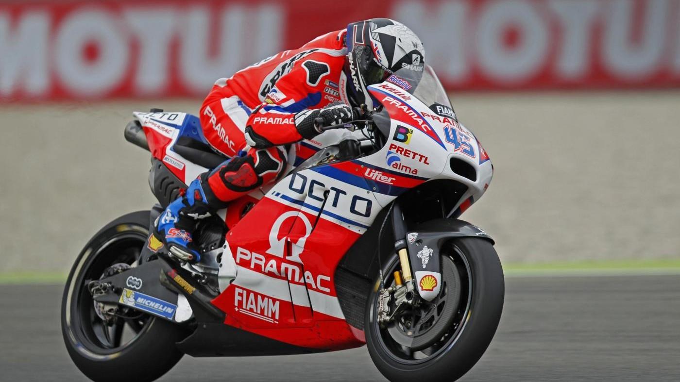 Gp Olanda, Redding davanti a Rossi in terze libere
