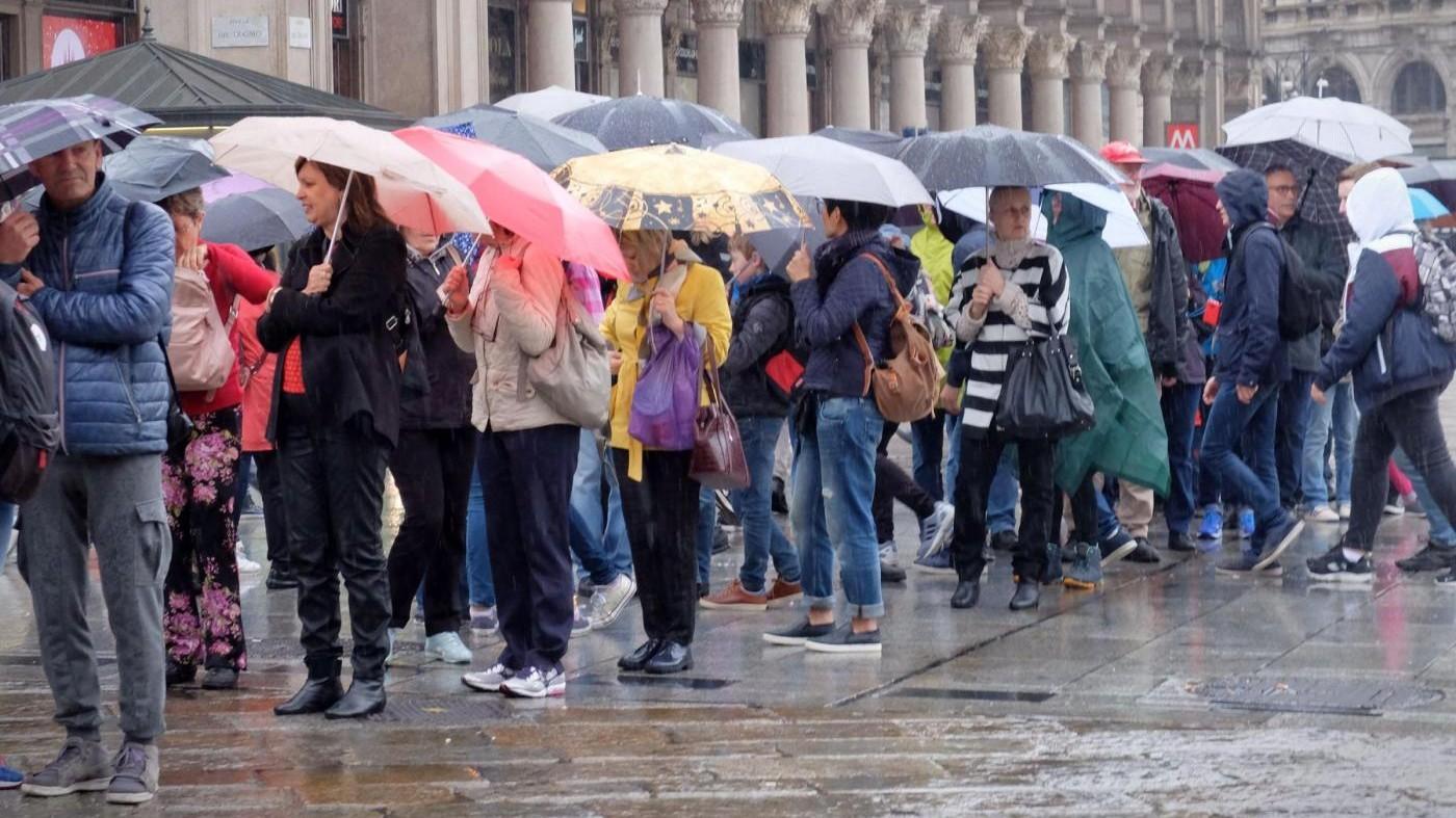 Allerta maltempo: dopo il caldo, al Nord arrivano i temporali