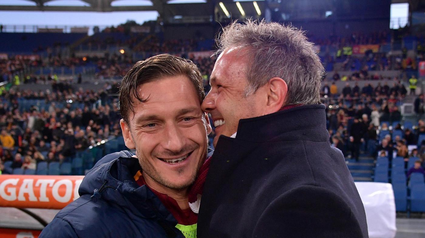 Mihajlovic 'chiama' Totti al Toro: Il mio numero ce l'hai…