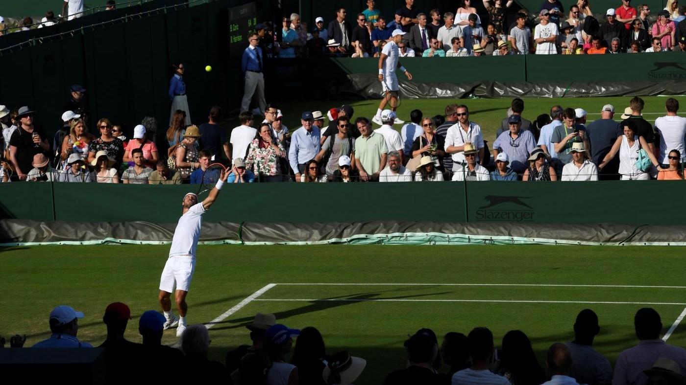Wimbledon, Lorenzi al secondo turno. Bolelli battuto da Tsonga