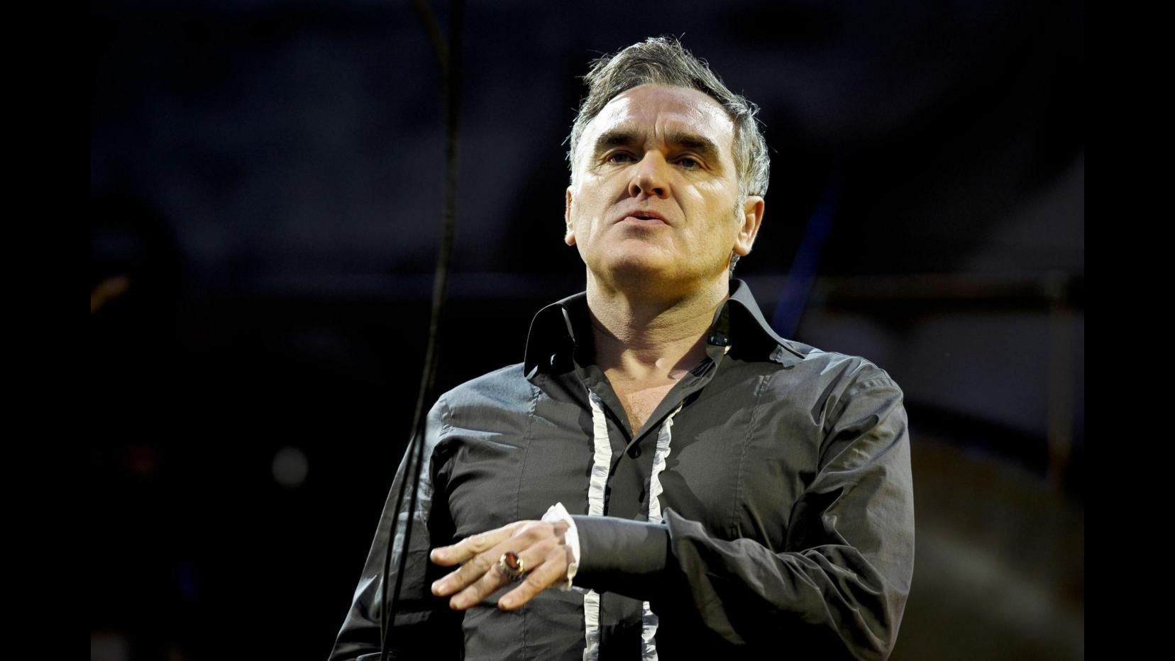 Roma, Morrissey minacciato da agente: Cancello il tour italiano