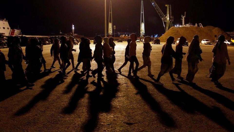 Risultati immagini per numeri migranti italia cartina