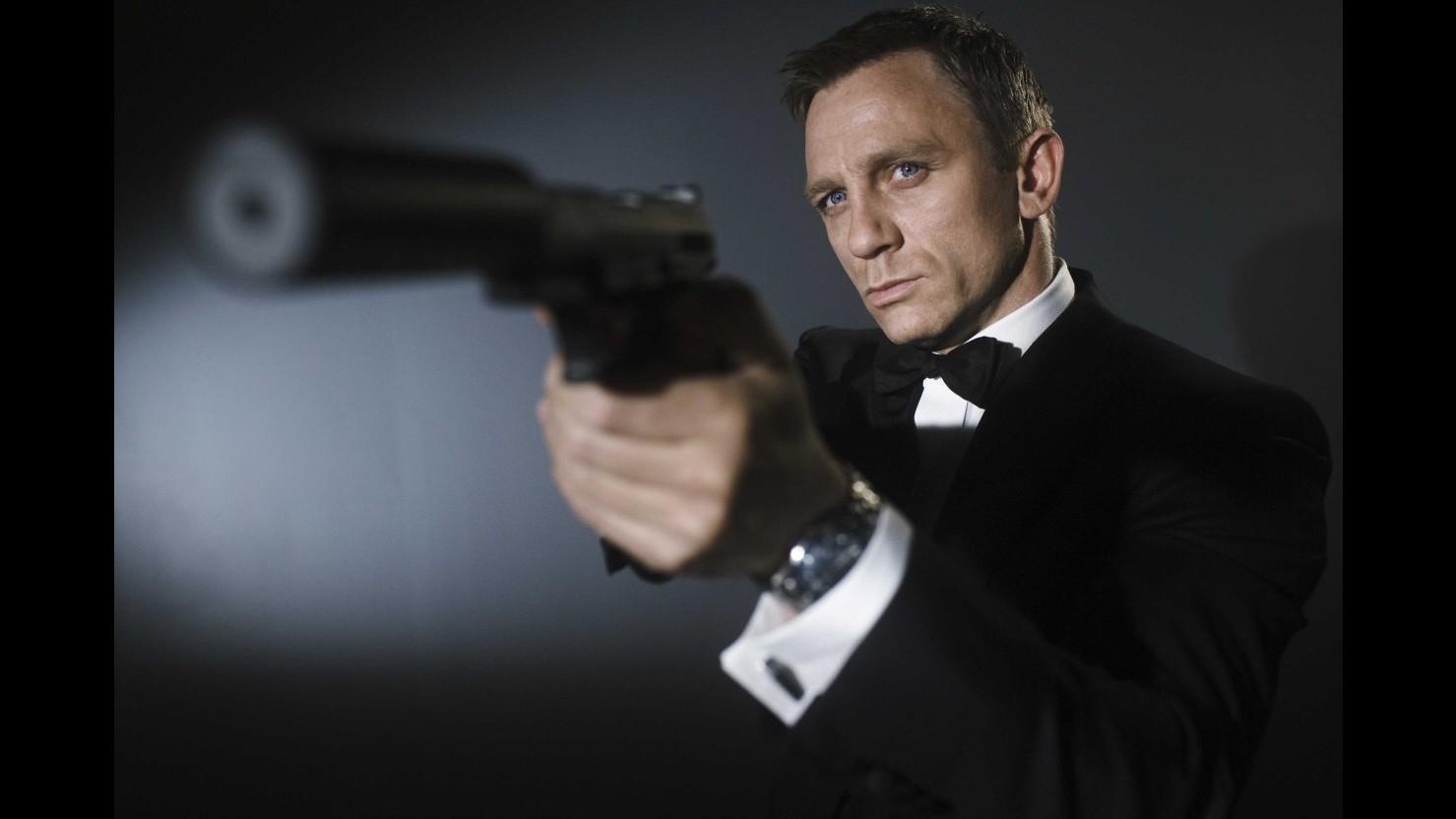 James Bond, Daniel Craig sarà per la quinta volta l'agente 007