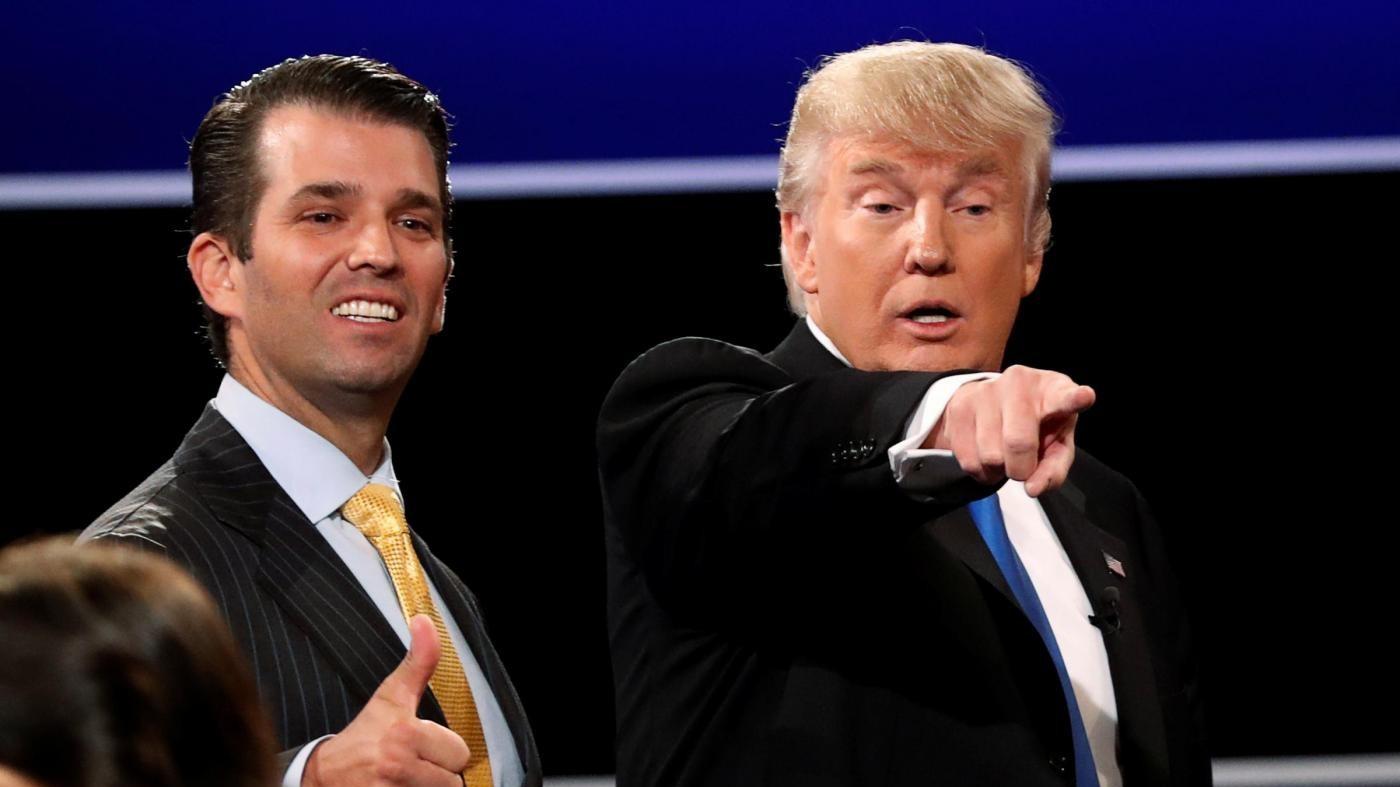 Trump Jr: Non raccontai a mio padre dell'incontro con la legale russa