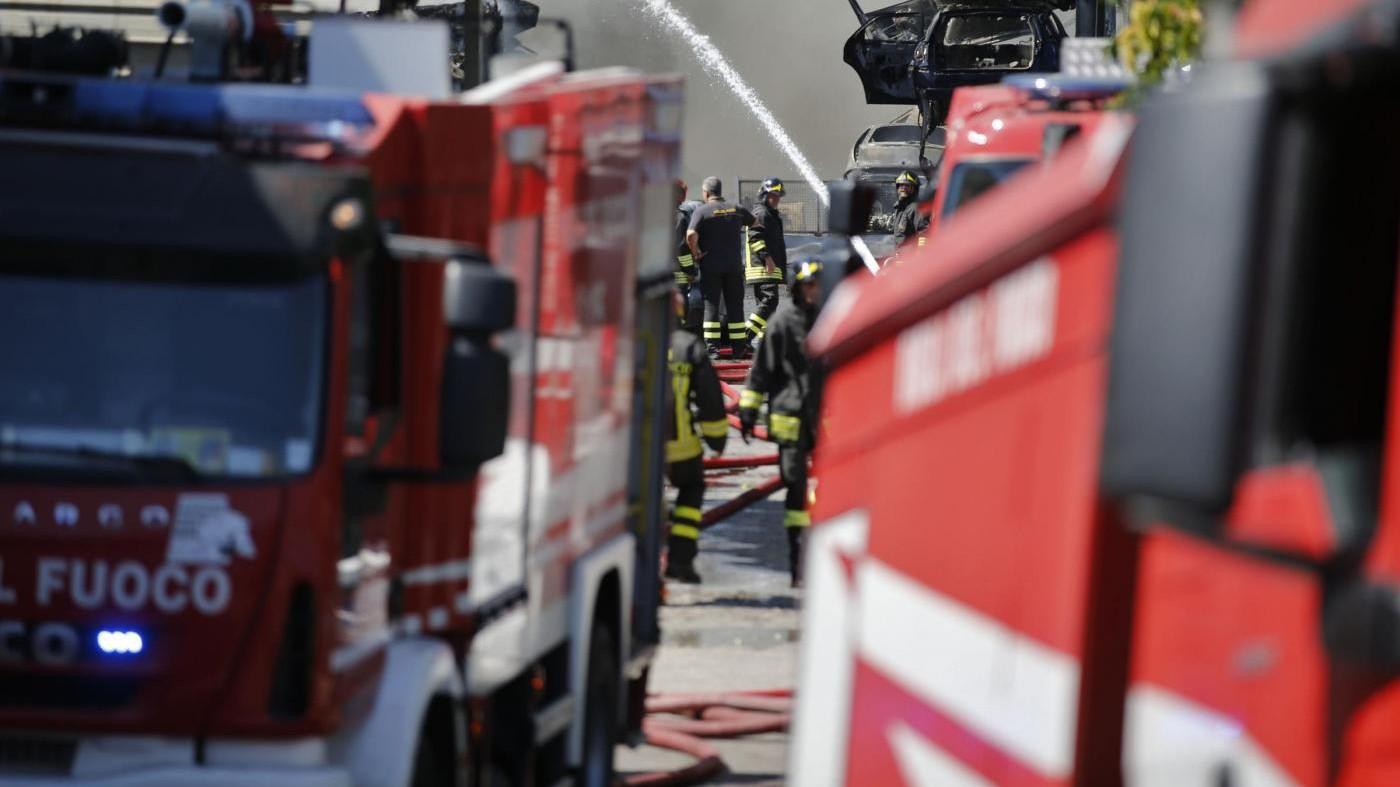 Incendi, arrestato piromane alle porte di Roma