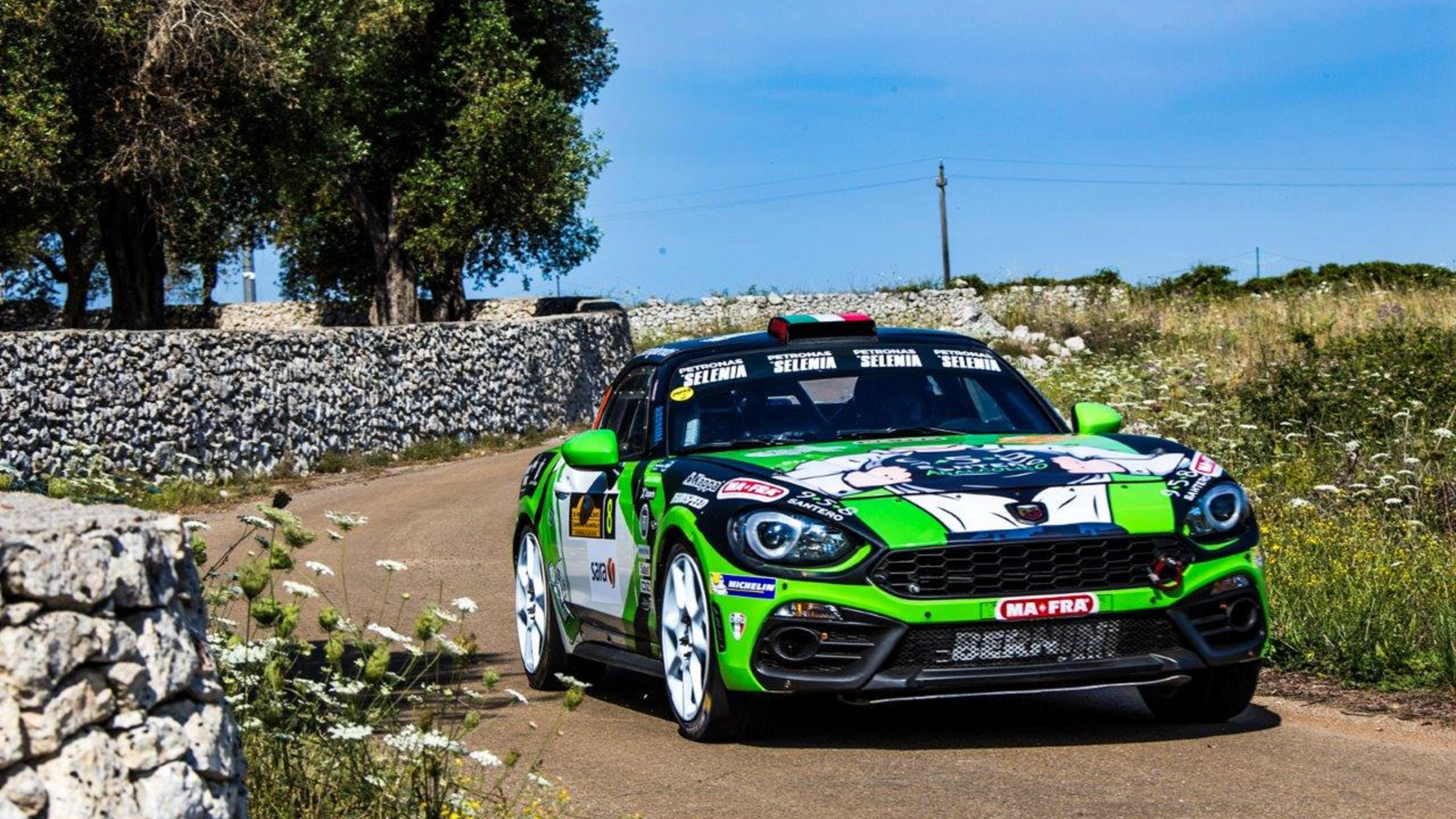 Abarth, al via il Rally del Friuli: sette prove speciali