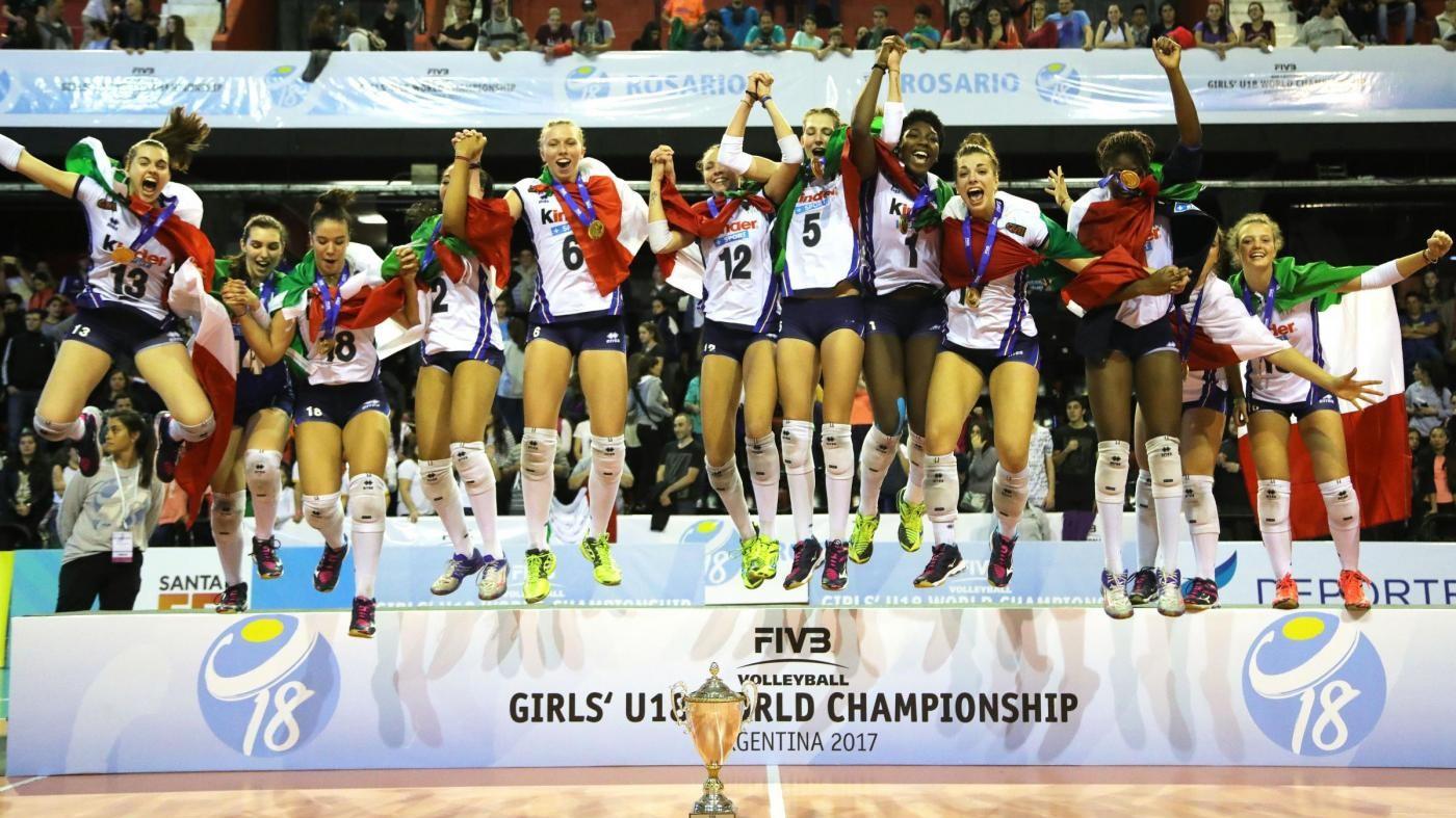 Volley, azzurrine campionesse del mondo under 18