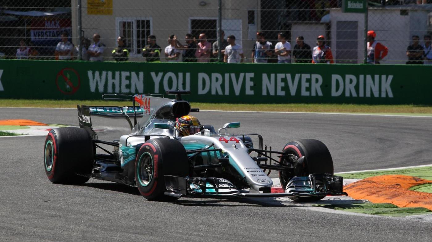 Hamilton nuovo leader del Mondiale: trionfo a Monza