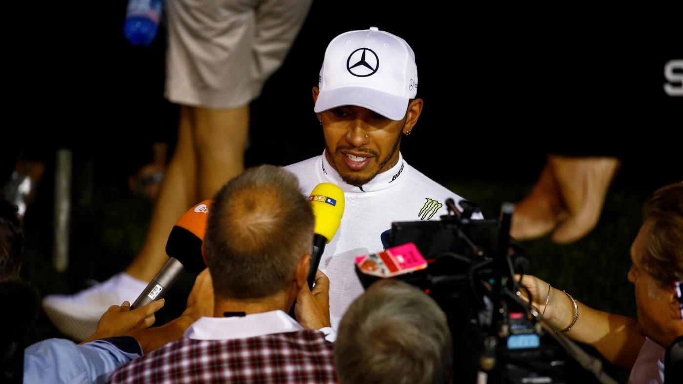 F1, Hamilton: Diventerò vegano, non voglio avere il cancro