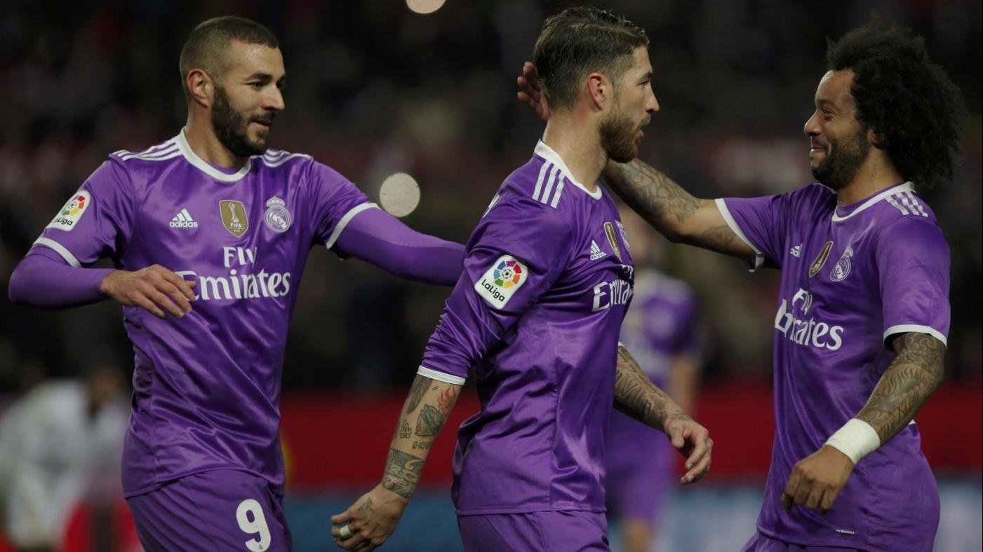Coppa del Re, per Real record imbattibilità: 3-3 con Siviglia