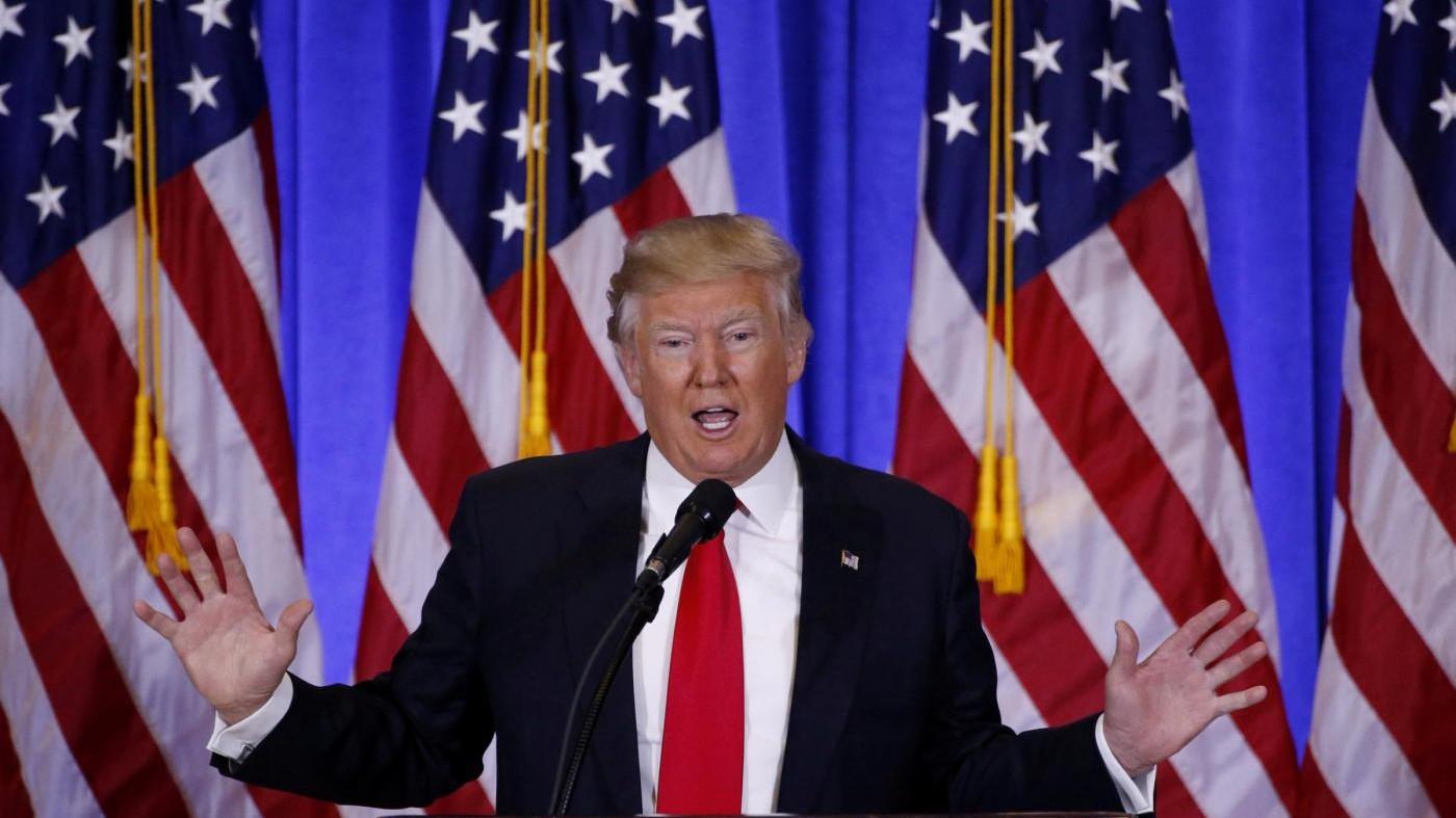 La sfida di Trump 45° presidente: Usa torneranno grandi