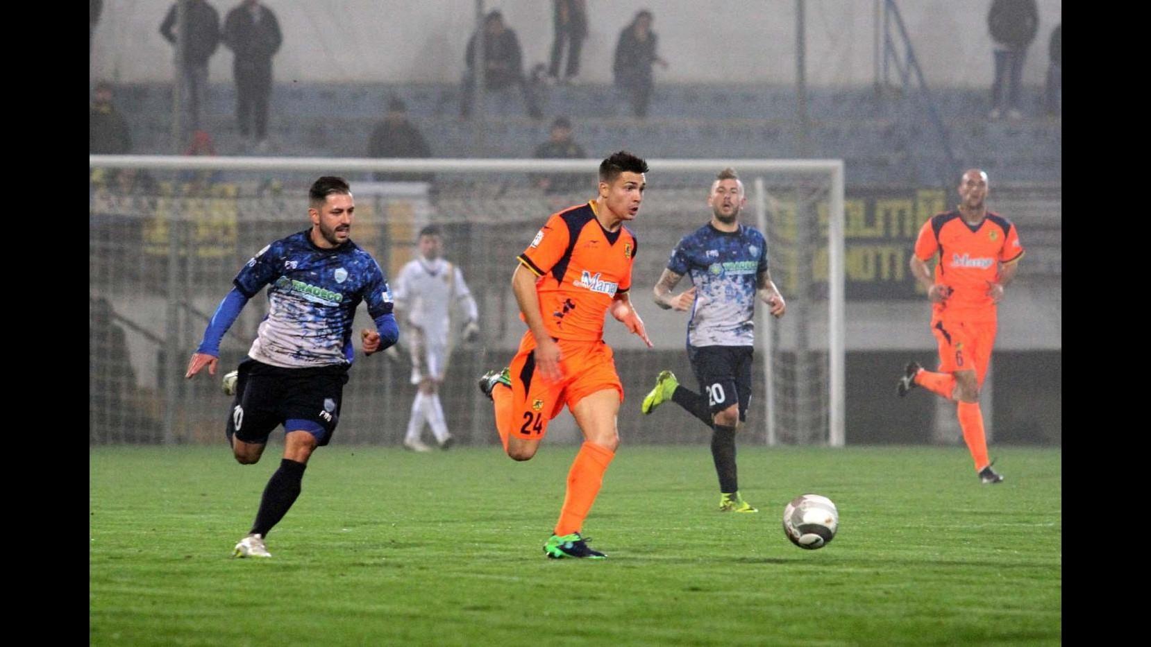 Lega Pro, Matera-Juve Stabia: partita sospesa per nebbia sull'1-1