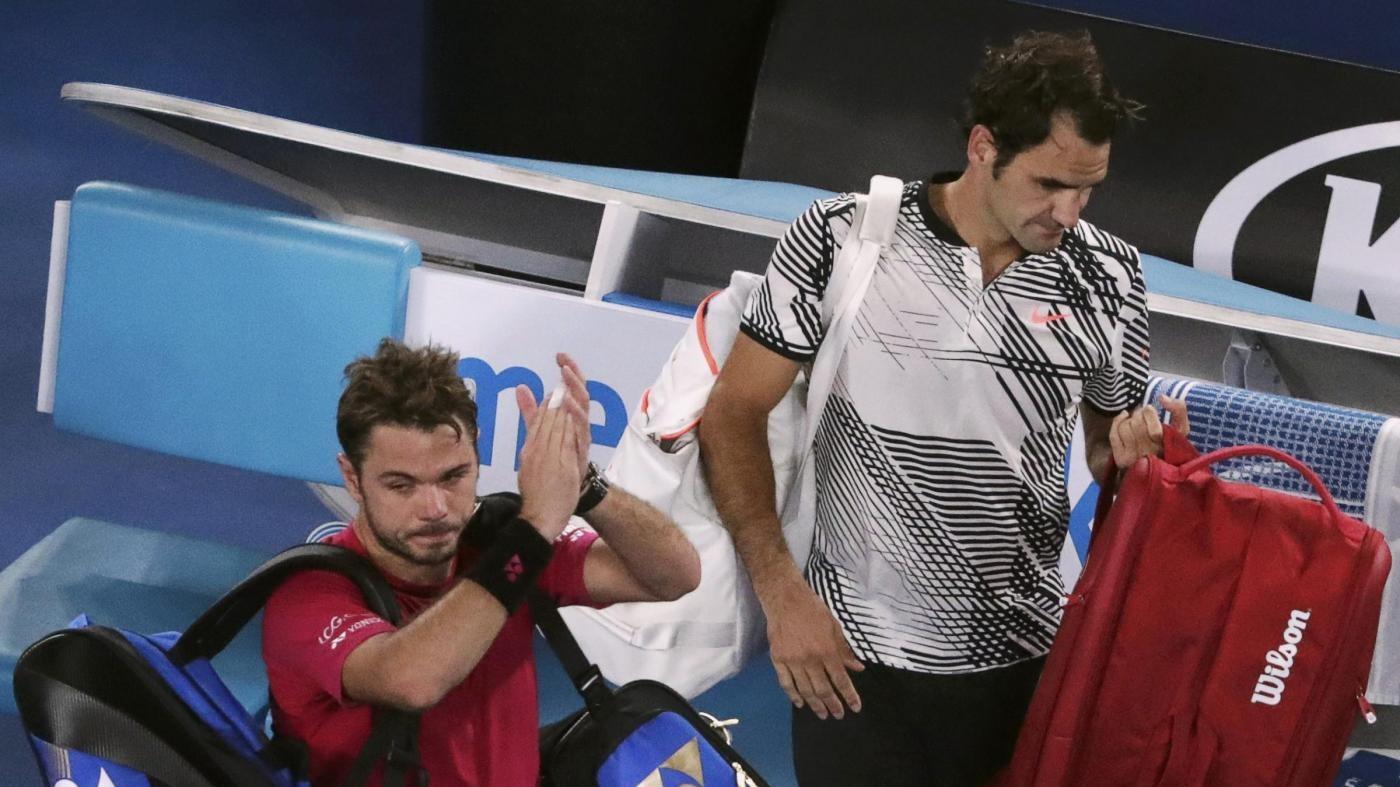 Tennis, Wawrinka incorona Federer: E' il più grande di tutti