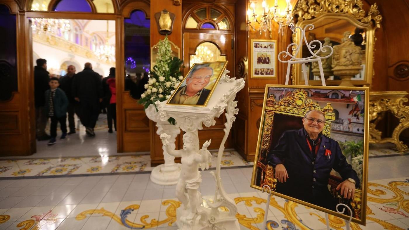 Funerali di Antonio Polese, il Boss delle Cerimonie