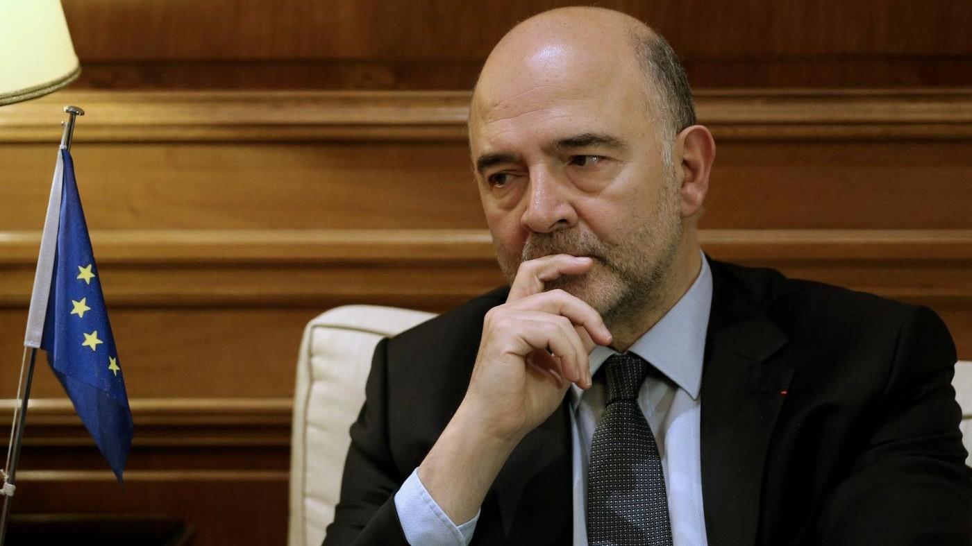 Moscovici: Oggi non ho affrontato la questione conti con Padoan