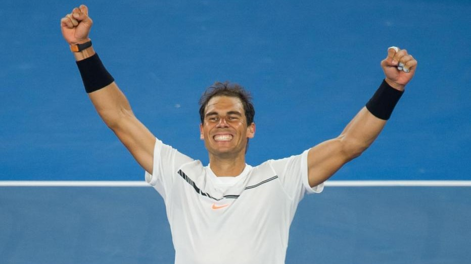 Australian Open, Dimitrov ko: Nadal vola in finale con Federer