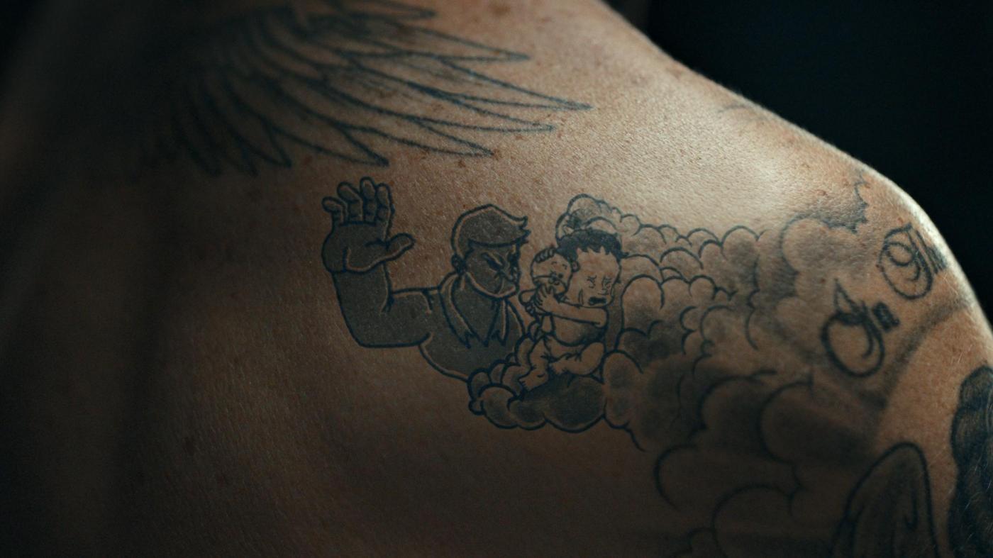 FOTO Beckham e i tatuaggi 'solidali' contro la violenza sui bambini