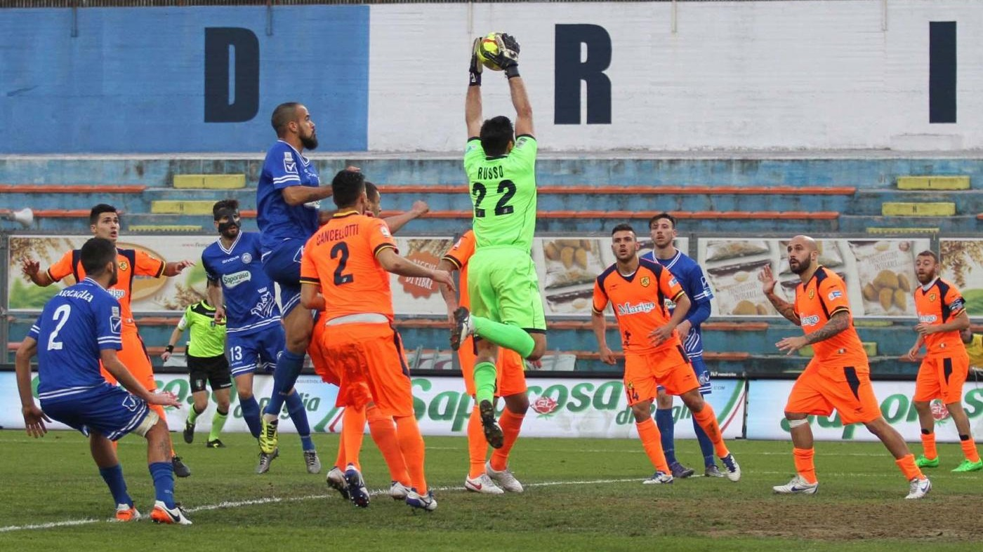 Lega Pro, l'Andria vince in casa con la Juve Stabia