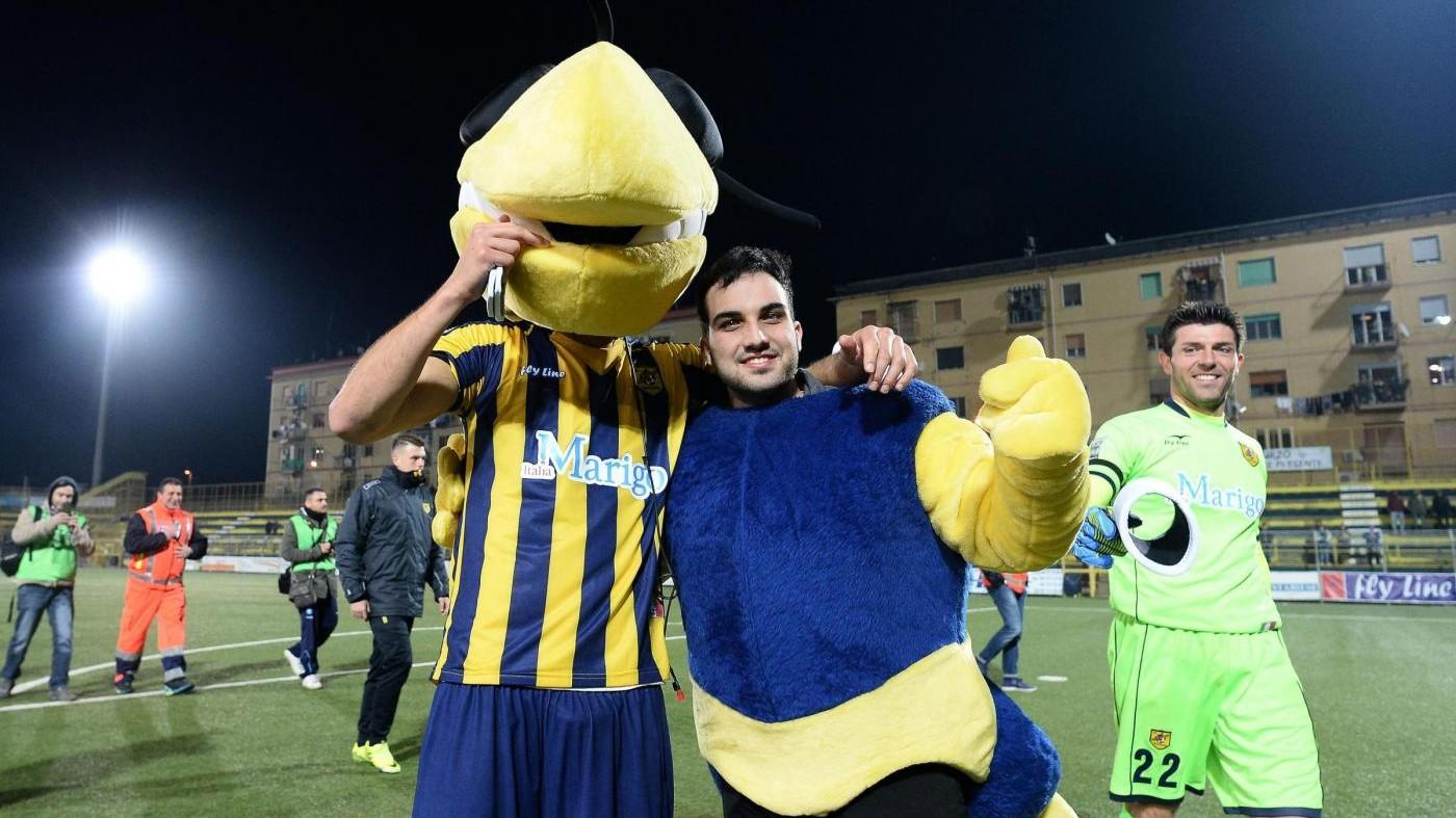 FOTO Juve Stabia-Catania 4-0
