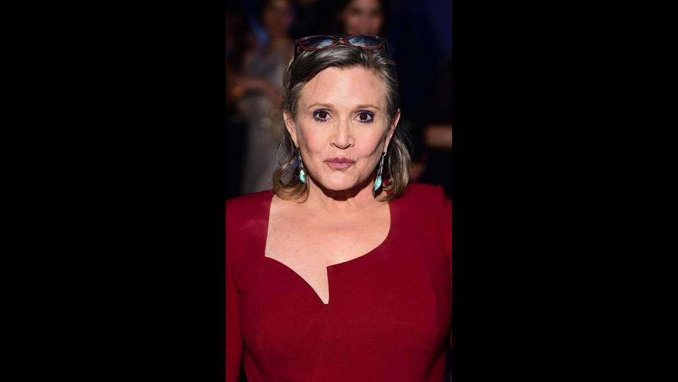 Carrie Fisher ©LaPresse/PA