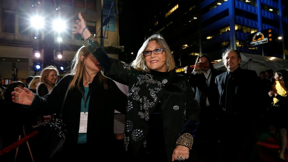 Carrie Fisher ©LaPresse/Reuters