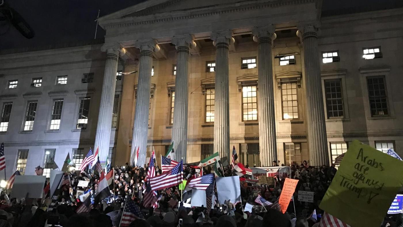 Battaglia in Corte d'appello su 'travel ban': ora parola ai giudici