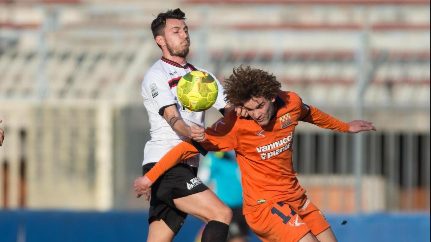 FOTO Lega Pro, Pro Piacenza-Pistoiese 1-1