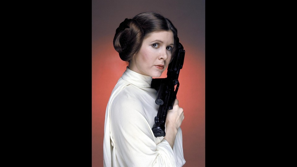 Carrie Fisher in 'Star Wars' (1977) ©LaPresse/Runway Manhattan