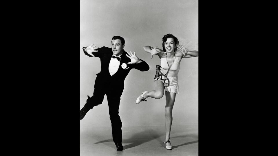 Gene Kelly e Debbie Reynolds in 'Singin' in the Rain' (1952) ©LaPresse/Runway Manhattan