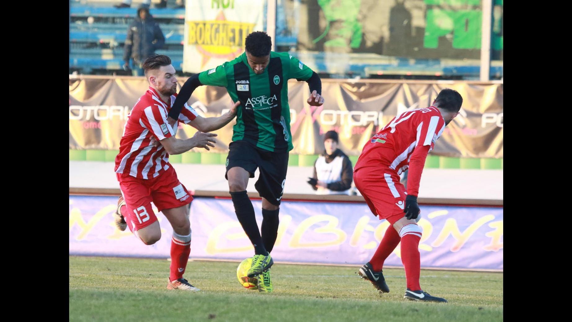 FOTO Lega Pro, cinquina del Pordenone contro il Forlì