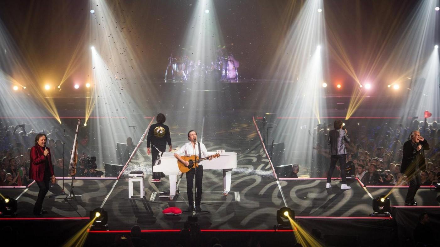 FOTO Bologna, ultimo concerto della carriera dei Pooh