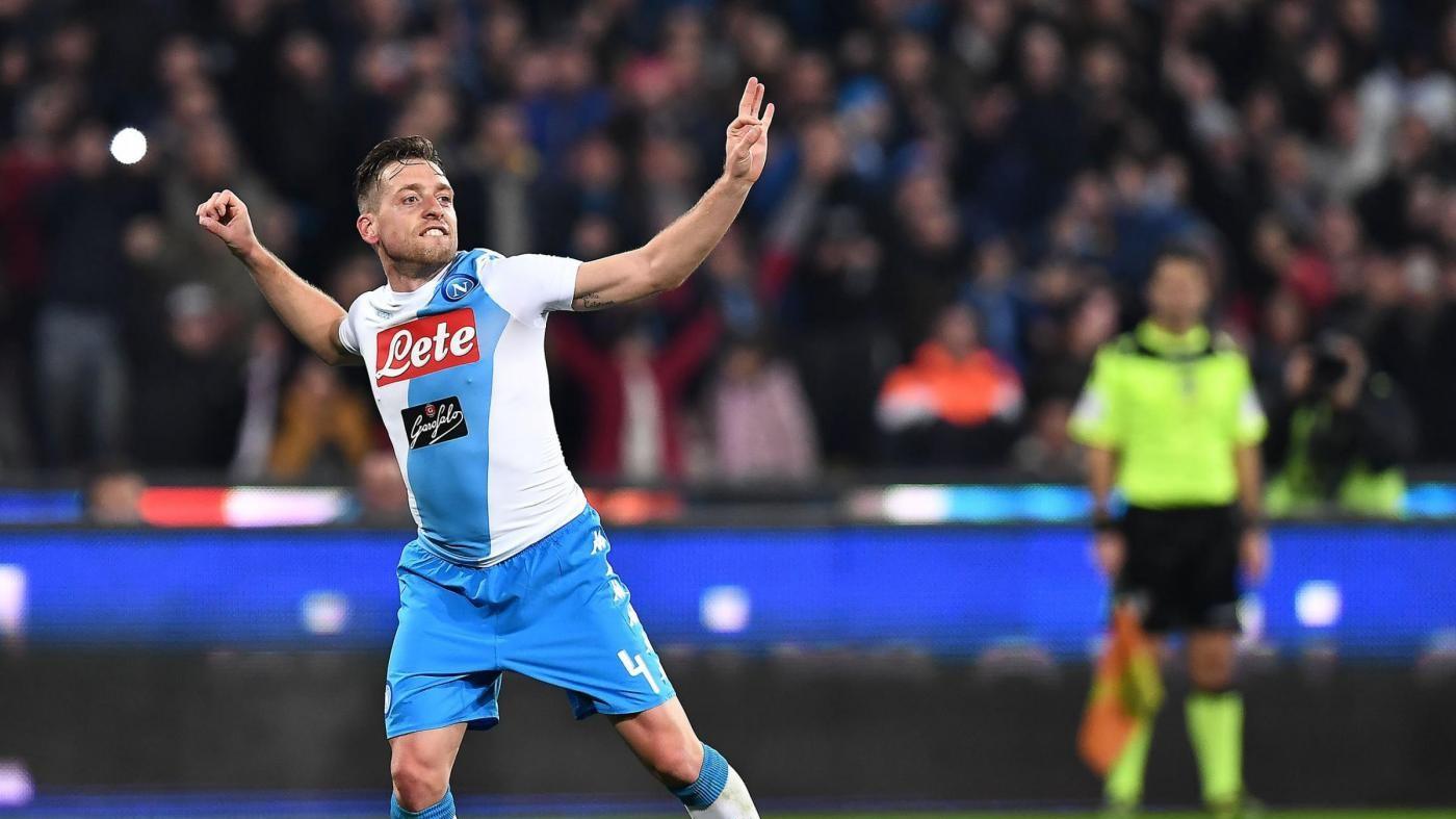 Il Napoli avvisa il Real: Zielinski e Giaccherini, Genoa ko 2-0
