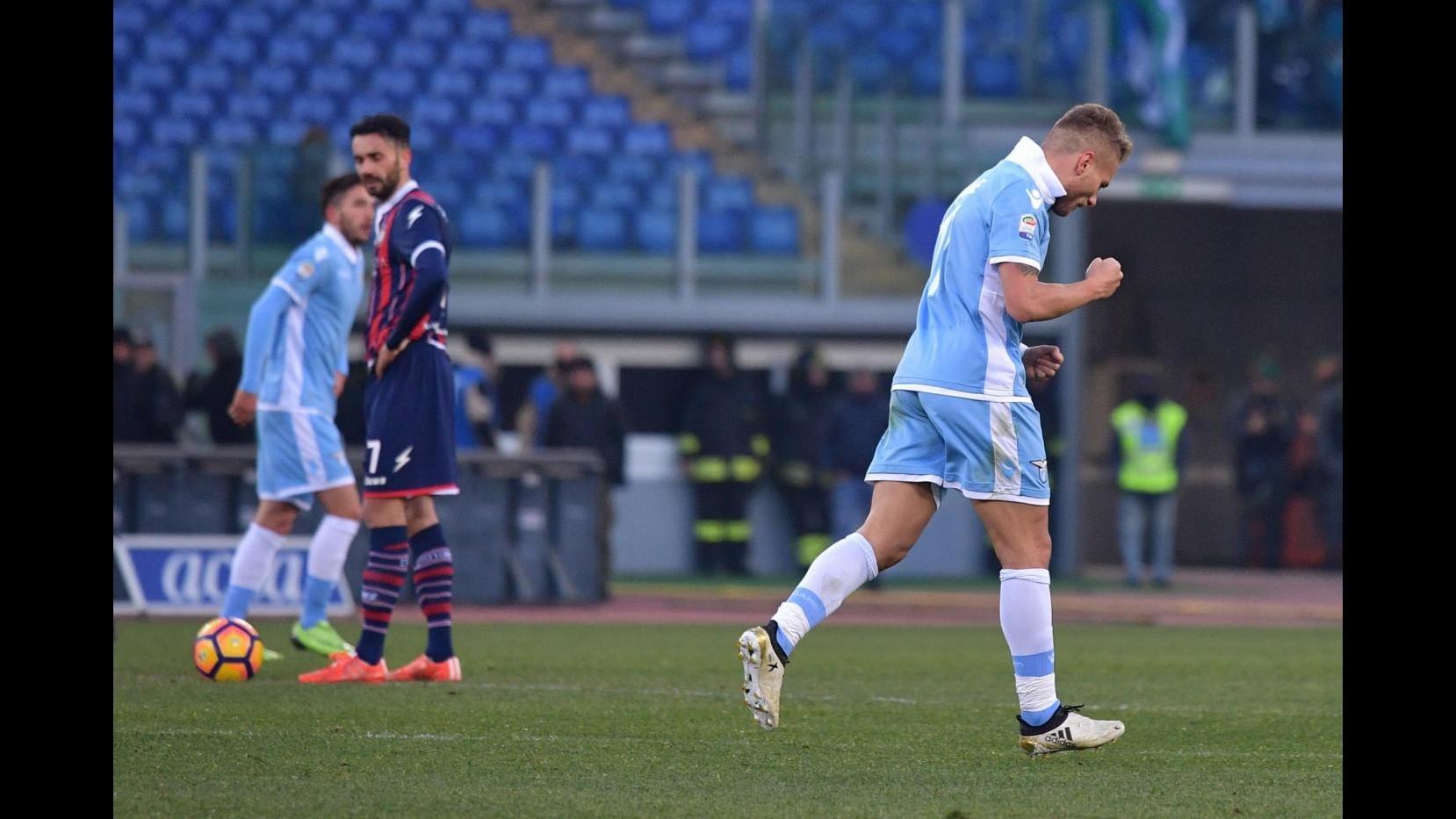 FOTO Serie A, Lazio supera Crotone solo allo scadere