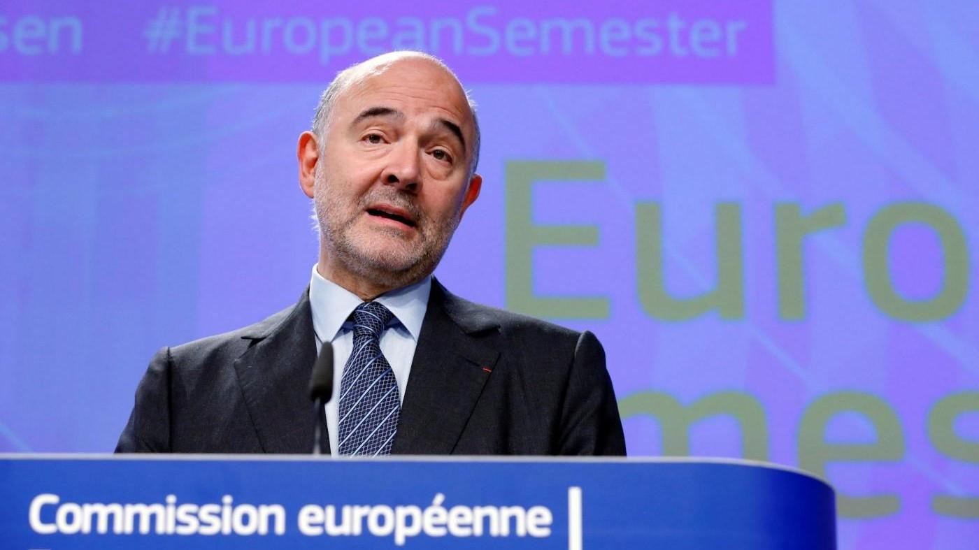 Ue, Moscovici: Nessun ultimatum al governo italiano