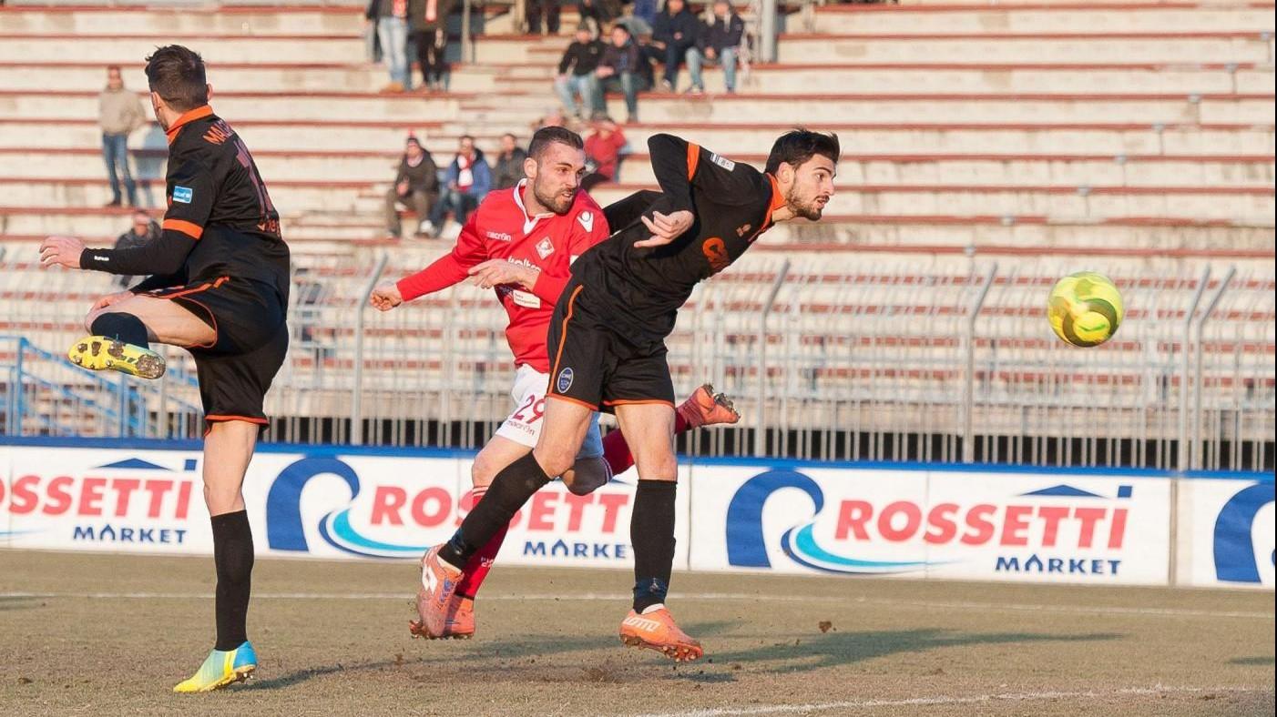 FOTO Lega Pro, pareggio a reti bianche tra Piacenza e Renate