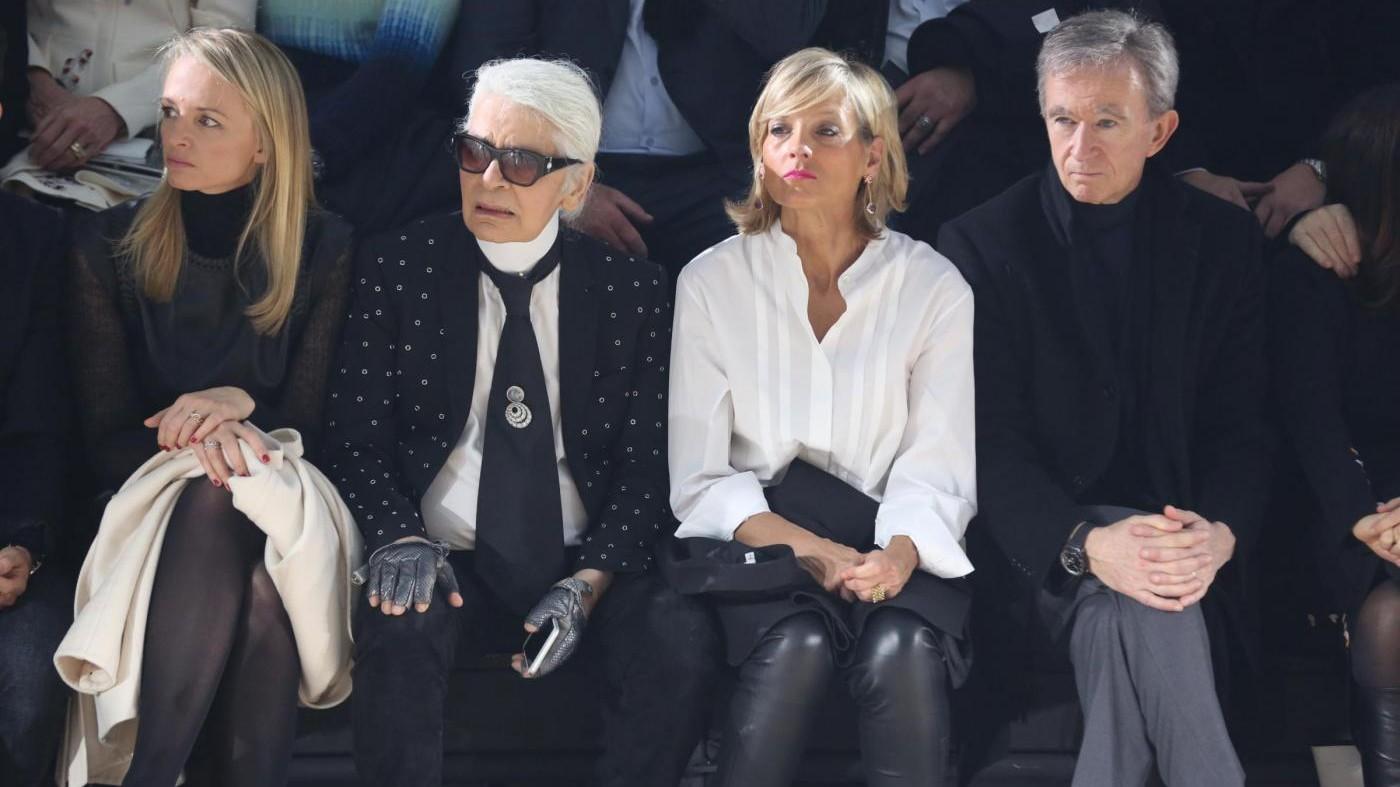 FOTO Parigi, Da Hamilton a Bono: parata di vip alla sfilata di Dior