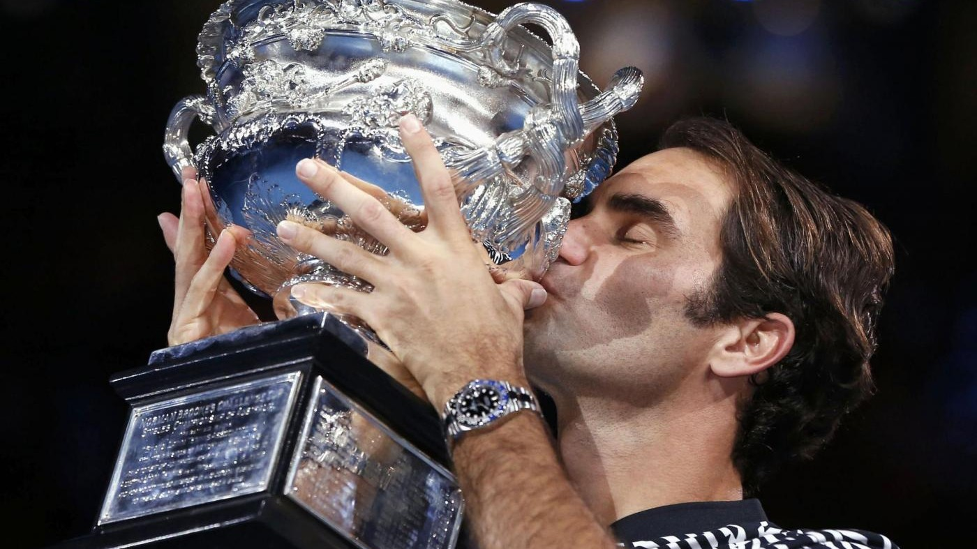 FOTO Federer batte Nadal e vince l'Australian Open