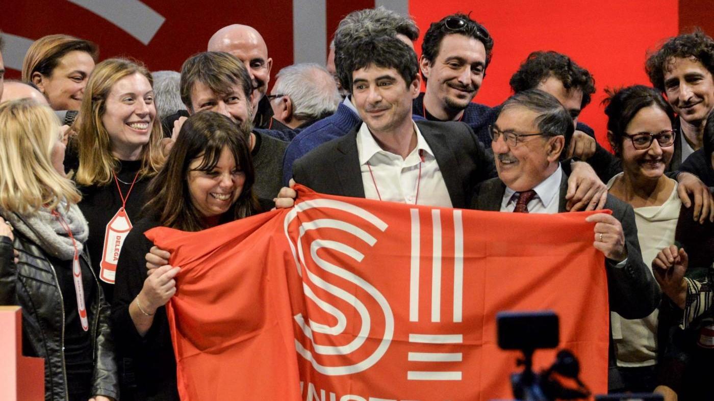 Nicola Fratoianni è il nuovo segretario di Sinistra italiana