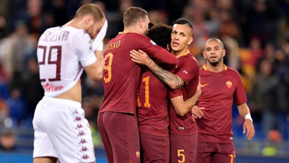 Serie A, troppa Roma per il Toro, giallorossi calano il poker