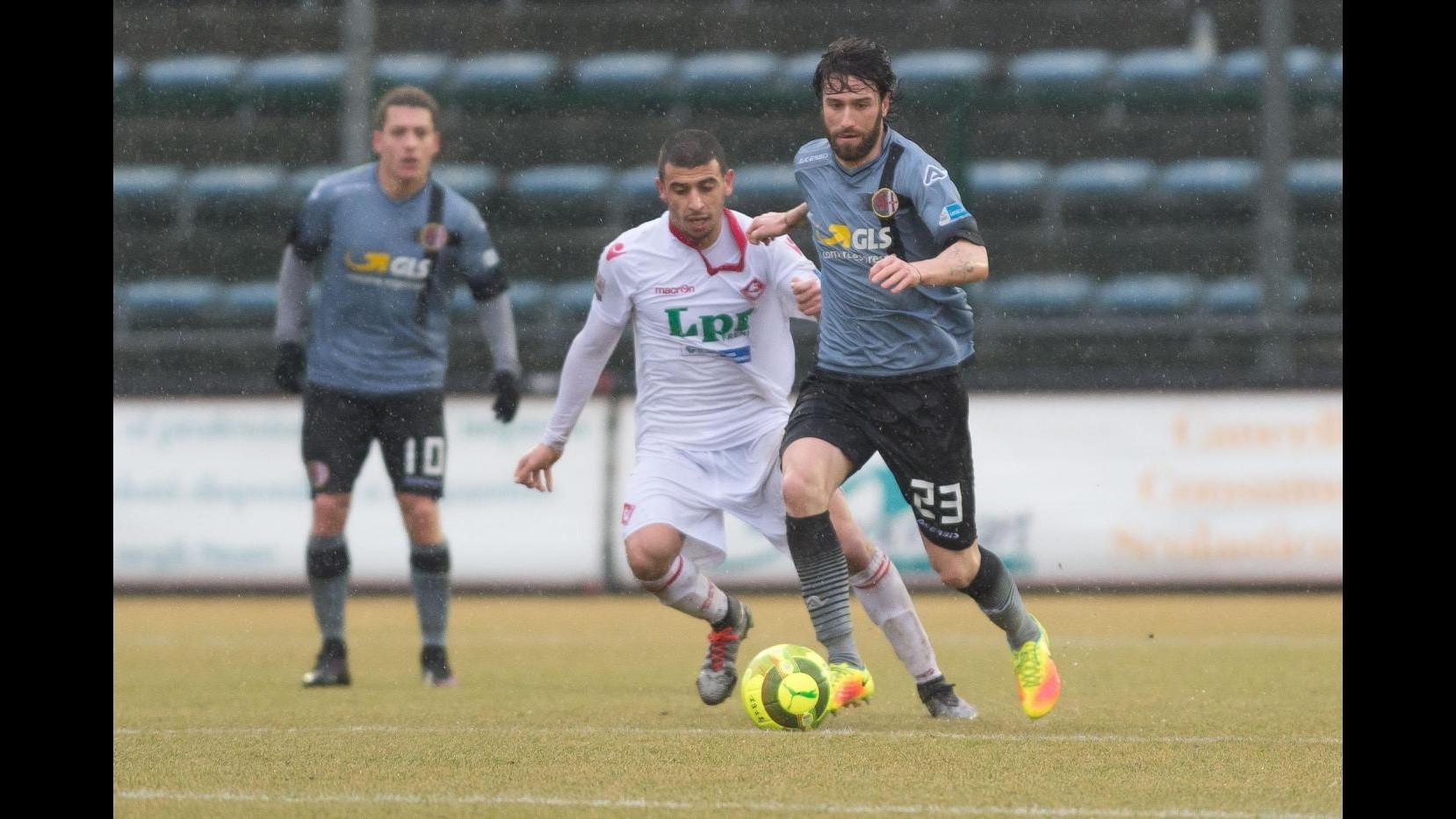 FOTO Lega Pro, Alessandria-Piacenza 1-0: grigi soli in testa