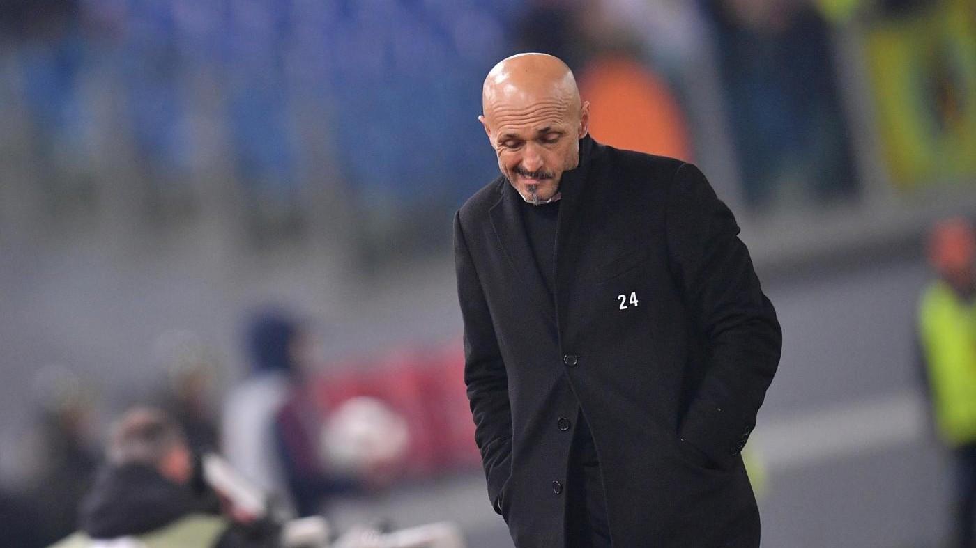 Ranieri, Spalletti: Dispiace molto, nel calcio non c'è riconoscenza