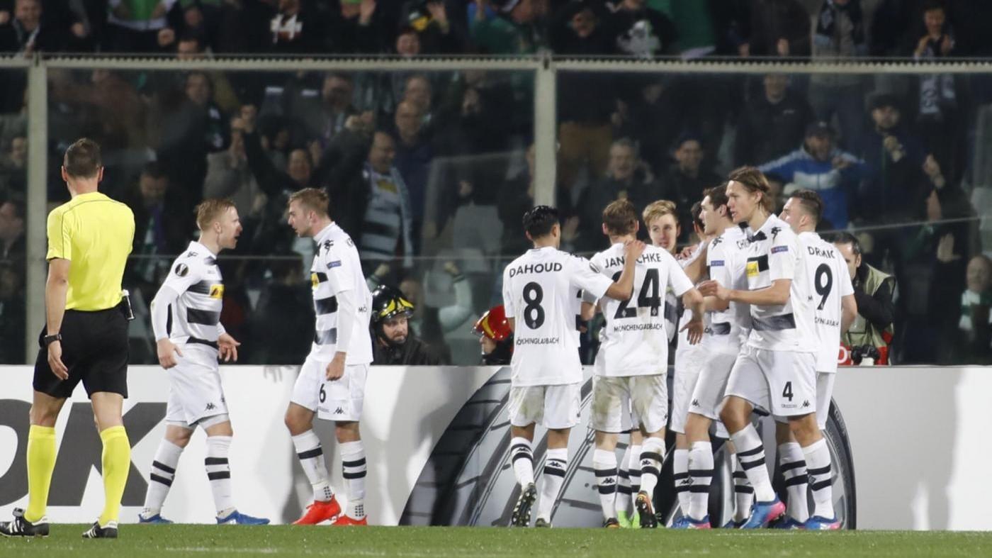 Europa League, follia Fiorentina: da 2-0 a 2-4, Borussia agli ottavi
