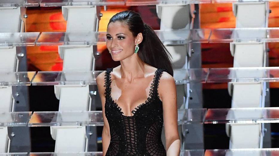 Sanremo, Marica Pellegrinelli incanta l'Ariston
